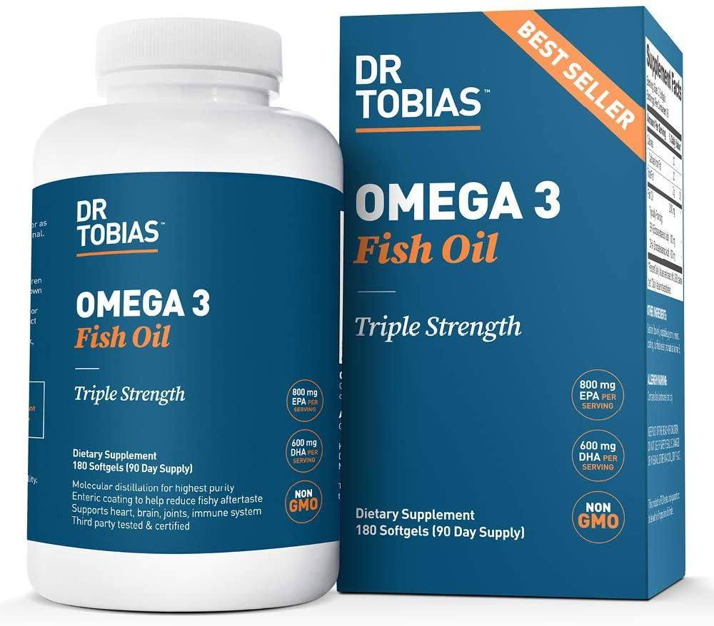 Dr Tobias Omega 3 Fish Oil