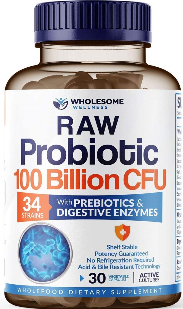 Wholesome Wellness RAW Probiotic